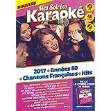 Coffret karaoké 4 DVD + 1 CD : 2017 vol 1 + 80 vol 1 + CF vol 1 + Hits vol 2