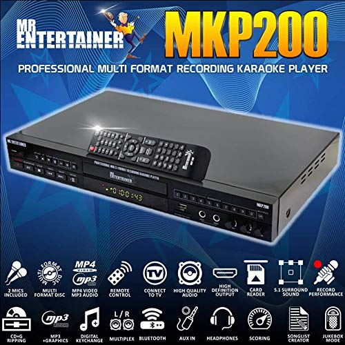 Mr Entertainer MKP200 CDG DVD MP...