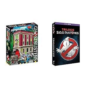 Playmobil - 9219 - Quartier Général Ghostbusters + SOS Fantômes Trilogie [DVD + Copie Digitale]