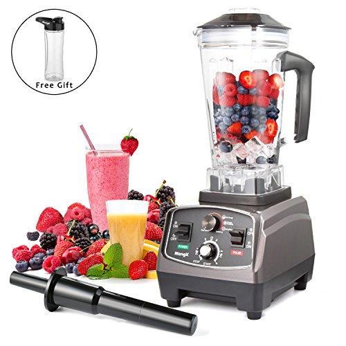 Frullatore MengK Smoothie Maker Mixer Professionale Blender Miscelatore Ideale per Preparare Frullati Cocktail Zuppe e Succhi, 2 litri di Capacità 1400 Watt BPA Free