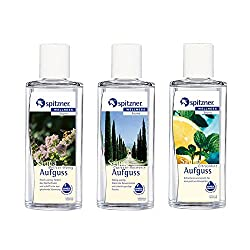Spitzner Sauna Infusion 3 Flavors With Each 190 Ml