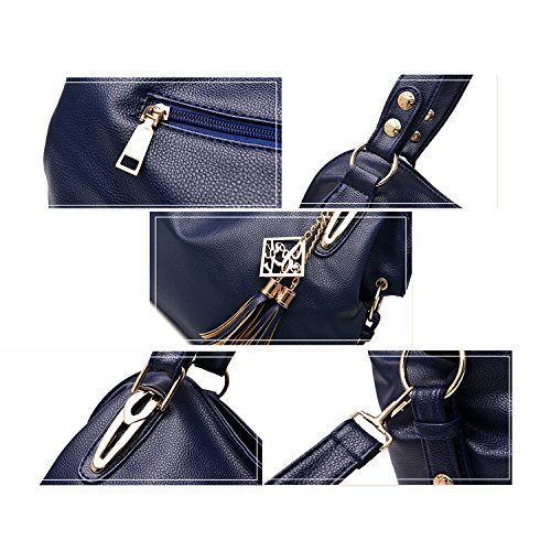 Ruiren Multifunktions Soft Bag Portable Umhängetasche Frauen Messenger Bags Frauen Handtasche Schultertasche Rot