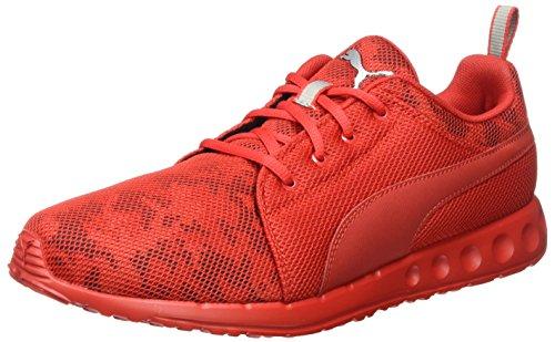 01 red Carson Puma Herren puma Cam risk Rot high Laufschuhe silver TqR6nqW