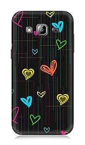 Samsung Galaxy J3 3Dimensional High Quality Printed Back Case