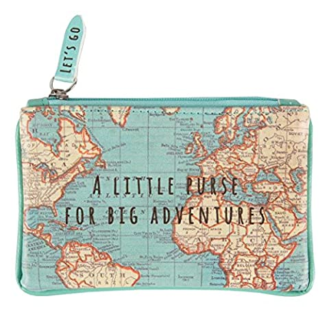 Sass & Belle chc091–Small Bag Vintage Map For Great