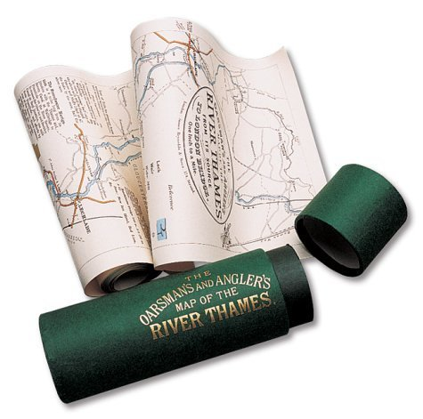 The Oarsman's and Angler's Map of the River Thames 1893: From Its Source to London Bridge by E.G. Ravenstein (1991-01-01)