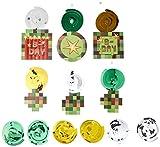 Amscan TNT Party Pixel Minecraft Swirl Dekorationen Mehrfarbig