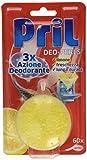 Pril Kraft-Gel Ultra deo-perls, désodorisant Lave-vaisselle au citron, 60pièces