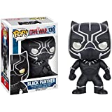 Funko - POP Marvel - Cap America 3 - Black Panther