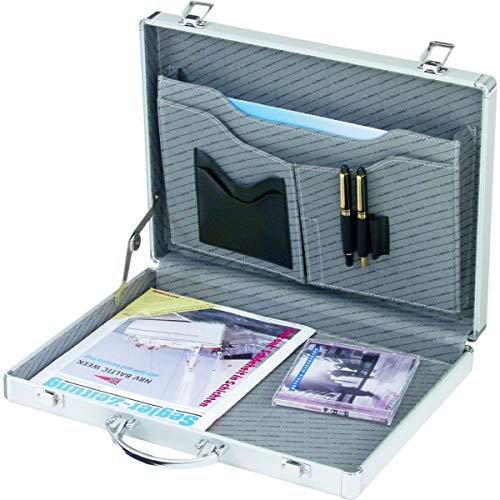 ALUMAXX Attaché-koffer MINOR, Aluminum, silber