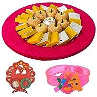 Bikanervala Exotic Kaju Sweets Rakhi Hamper with Kids Rakhi