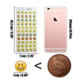 Emoji Sticker 660 Stück Emoji Aufkleber coole Sticker Für Kinder und Erwachsene Test