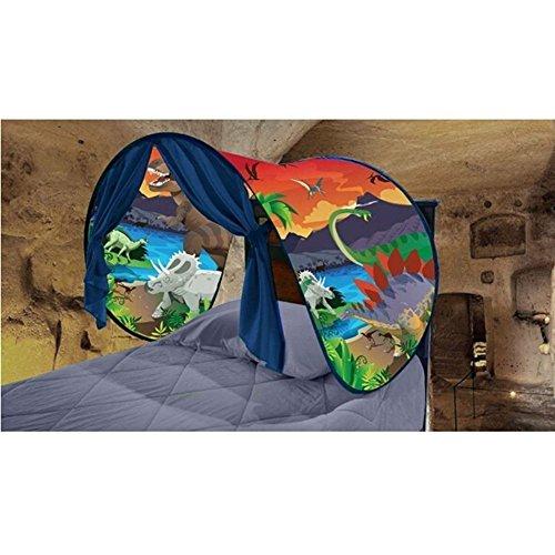 Tende bambini da sogno - mondo magico dream tents pop up tenda gioco per bambini regali di compleanno e natale (isola dei dinosauri)