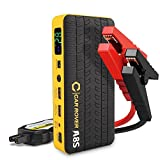 Car Rover Auto Starthilfe Akku Power Pack 800A, Jump Starter 14000mAh Power Bank mit LED...