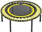 bellicon Classic Mini-Trampolin, gelb, kompakt ø 100 cm, Klappbeine, bis 200 kg, inkl....