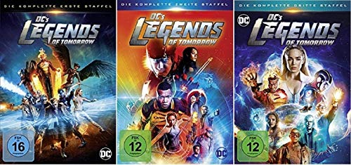 DC's Legends of Tomorrow Staffel 1-3 (1+2+3) DC Serie [DVD Set]