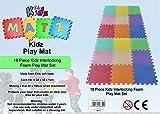 Edz Kidz Interlocking Foam Play Mat Set