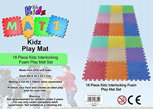 Edz Kidz - Puzzlematte