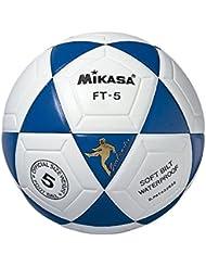 Mikasa FT5 Ball, thermogeschweißt, Weiß / Blau