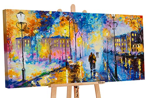 YS-Art Cuadro acrílico Tarde romántica| Pintado