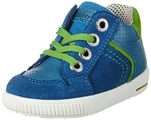 Superfit Baby Jungen Moppy Lauflernschuhe, Blau (Denim Kombi), 25 EU (Kinder Denim-blau Schuhe)