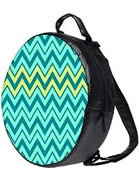 Snoogg Aqua Shades 2576 Bookbag Rounded Backpack Boys Girls Junior School Bag PE Shoulder Bag Lunch Kids Luggage