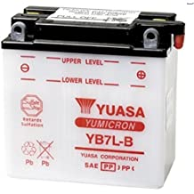 Batería Yuasa YB7L-B 12V 8.4Ah producción 2017para Yamaha YP Majesty 15020002002