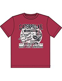 Caterpillar Fuel System - T-shirt à manches courtes 100% coton - Homme