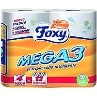 Foxy Mega3 Papel Higiénico - 4 Rollos