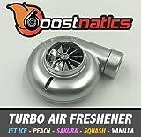 boostnatics Spinning Turbo Lufterfrischer–Squash (Silber)