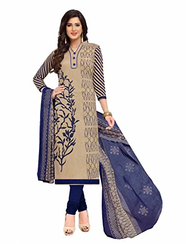Miraan Women's Cotton Dress Material (Band1606_Multicolor_Free Size)