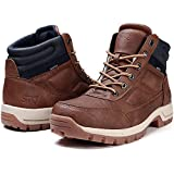 STQ Mens Combat Boots Lace up Light Weight Backpacking Hiking Boots Outdoor Ridge