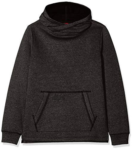 s.Oliver Junior Jungen Sweatshirt 62.811.41.4021, Schwarz (Black Multicolored Stripe 99s5), 164 (Herstellergröße: L/REG)