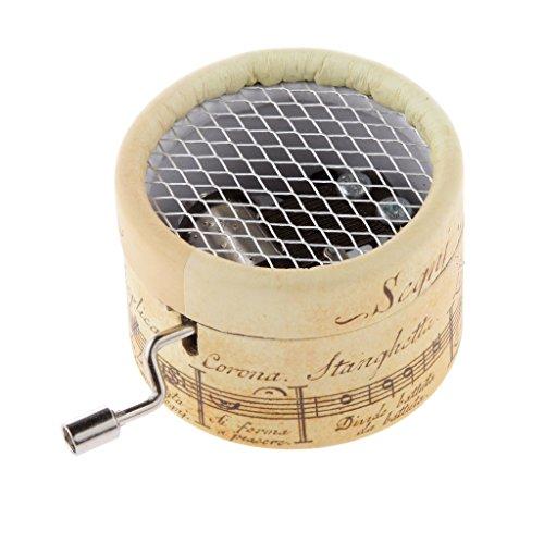 Wooden Music Box Boutique kreative Geburtstagsgeschenk Handkurbel Uhrwerk Spieluhr Melodie - Hochzeitsmarsch