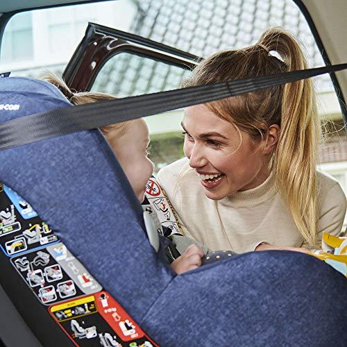 Maxi-Cosi MiloFix ISOFIX Combination Car Seat, Group 0+/1 car seat, Rear and Forward-facing, 0-4 years, 0-18 kg, Sparkling Grey  MAXI-COSI