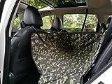 Aonepro copertura con sedile auto auto porta protezione impermeabile per cani domestici antiscivolo amaca progettato in grandi dimensioni–Woodland camo