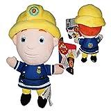 FIRMANSAM Sam el Bombero (Fireman Sam) - Peluche el Bombero Sam 10'62/27cm Calidad Super Soft