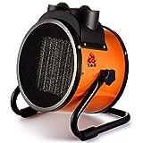 GY Standheizung-Spezieller tragbarer Lufterhitzer für die Industrie, Keramikheizung, unabhängiger Thermostat, tragbarer Trockner, 5000 Watt, schwarz /+-+/ (größe : 220V/16A/3000W)