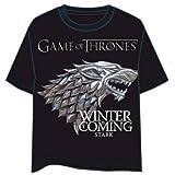 HBO Camiseta Juego de Tronos Logo Stark Talla M