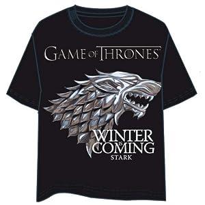 Last Level Camiseta Juego de Tronos Logo Stark Talla S