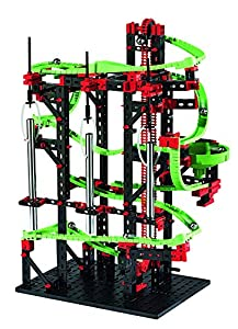 Fischertechnik Dynamic M - Juego Educativo y Divertido de Construcción de Circuitos de Canicas, 550 Piezas.