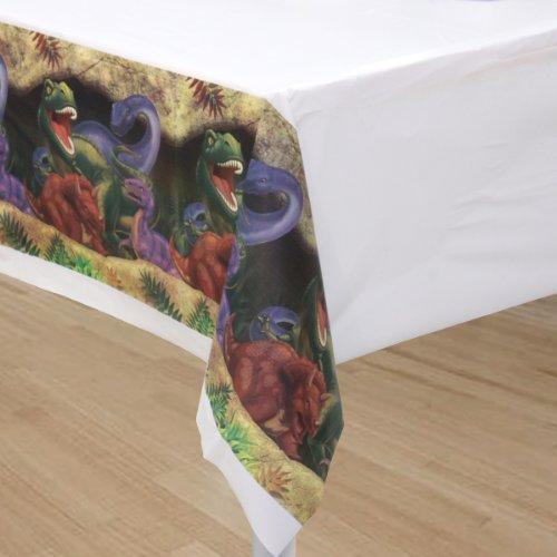 Mantel * * dinosaurios en el tamaño 137x 274cm Cumpleaños para niños//72–5012//Niños Fiesta de cumpleaños de Dino T Rex dinosaurios saurier Table Cover