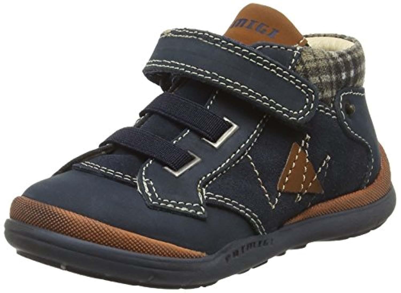 Primigi Boys' Fabian-E Hi-Top Sneakers, Blue (Blue), 7 Child UK 24 EU