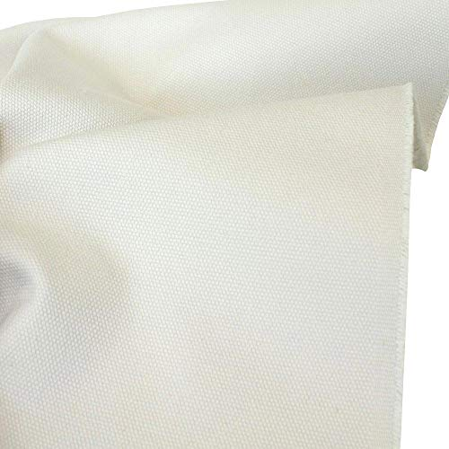 TOLKO Baumwollstoff - Schwerer Canvas Polsterstoff Meterware - Robuste, Abriebfeste...