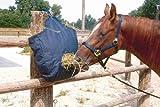 Haybag | Cenizas hoy | Haynet | Forro de saco  | Bolsa para heno | Con haybag comer la boca y anillas de suspensión azul