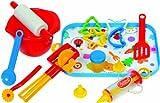 GOWI 454-63 Salzburg - Set de utensilios de cocina de juguete  [Importado de Alemania]