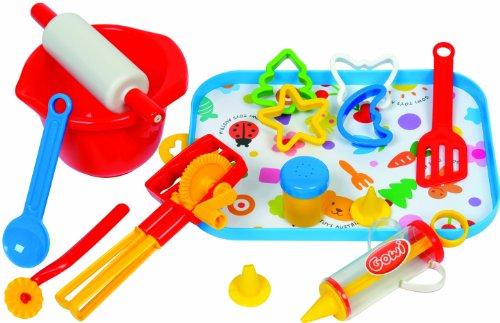 Preisvergleich Produktbild Gowi 454-63 Back Set Salzburg, Küchenspielzeug, 17 teilig
