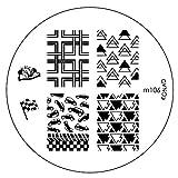 KONAD Stamping Schablone M106