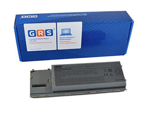 GRS Batterie d'Ordinateur Portable fç ¬ R Dell Latitude D620, D630, D631, Precision M2300, remplace : 310-9080, 312-0383, 312-0653, 451-10298, JD634, NT379, PC764, ordinateur portable Batterie 4400 mAh 11,1 V