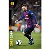 Erik Editores Poster Messi Action FC Barcelona, Mehrfarbig,